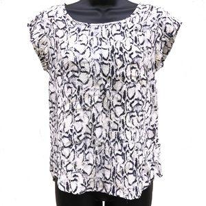 🌸2/$20🌸 Cynthia Rowley | 100% Silk Blouse | XS
